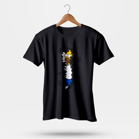 Sneaky Hedge Simpsons Men T-Shirt | Leaftunes