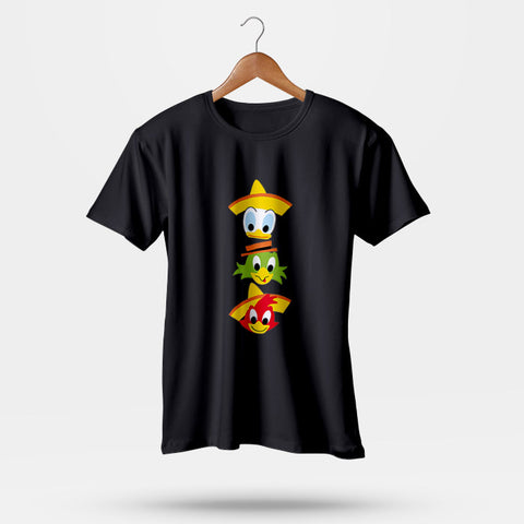 The Three Caballeros Men T-Shirt | Leaftunes