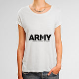 Army Blood Sweat Tears Woman's T-Shirt | Leaftunes