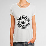 Black Panther Black Coffee Woman's T-Shirt | Leaftunes