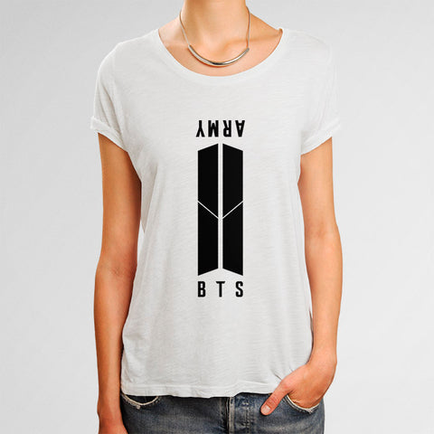 BTS & Army Woman's T-Shirt | Leaftunes