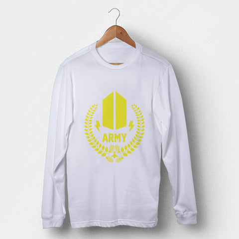 BTS Army Granade Man's Long Sleeve | Leaftunes