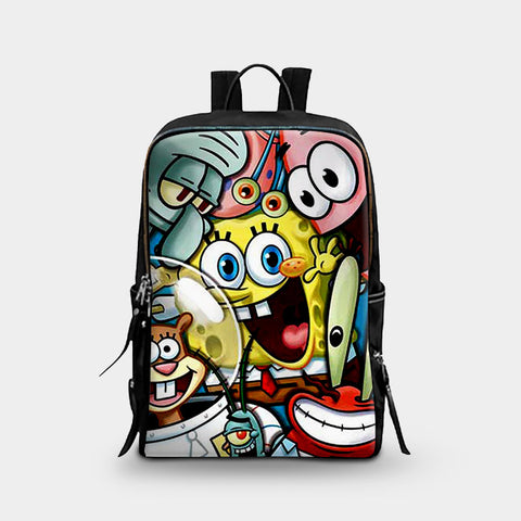 Spongebob Squarepants Art School Backpacks | Leaftunes