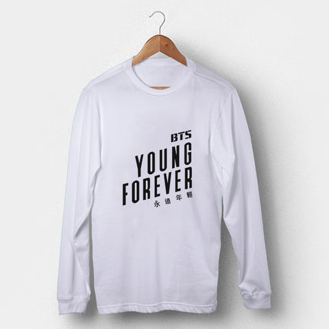 BTS Young Forever Man's Long Sleeve | Leaftunes