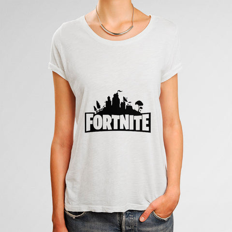 Fortnite Woman's T-Shirt | Leaftunes
