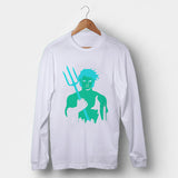 Aquaman Man's Long Sleeve | Leaftunes
