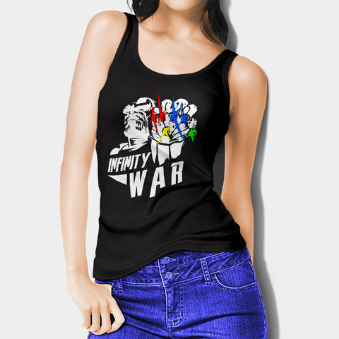 Avengers Infinity Wars Thanos Woman's Tank Top I | Leaftunes