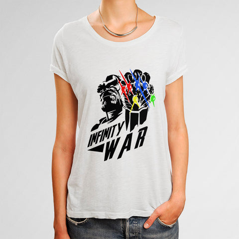 Avengers Infinity Wars Thanos Woman's T-Shirt | Leaftunes