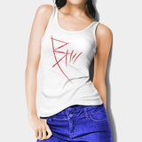 B The Beginning Woman's Tank Top I | Leaftunes