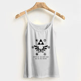 Become the Hero of Time Woman's Tank Top Halter Top | Leaftunes