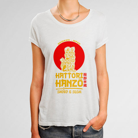 Hattori Hanzo Kill Bill Woman's T-Shirt | Leaftunes