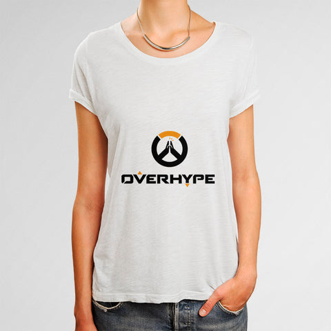 Overhype Woman's T-Shirt | Leaftunes