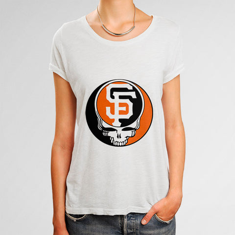 San Francisco Dead Giants Woman's T-Shirt | Leaftunes