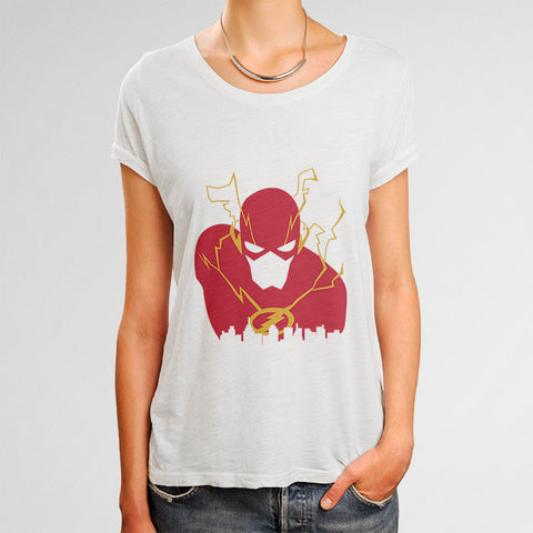 The Flash Woman's T-Shirt | Leaftunes