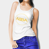 Abba Woman's Tank Top I | Leaftunes