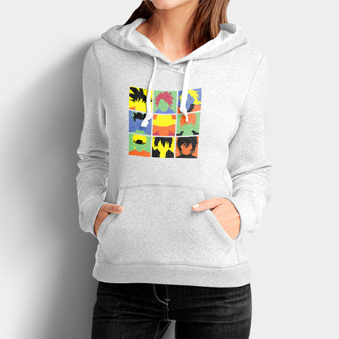 Anime Avengers Woman's Hoodies | Leaftunes