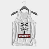 Anonymous Disobey Man's Tank Top | Leaftunes