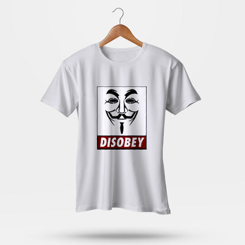 Anonymous Disobey Men's T-Shirt | Leaftunes