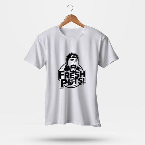 Fresh Pots! Saturday Morning Dave Grohl Man's T-Shirt | Leaftunes