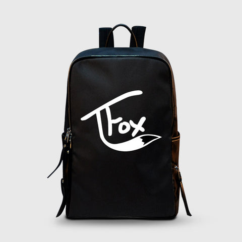 Tanner Fox Logo School Backpacks | Leaftunes