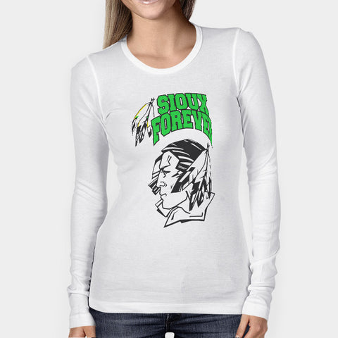 University Of North Dakota Fighting Sioux Woman's Long Sleeve | Leaftunes