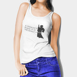 A boys Place Is In The Resistance Princess Leia2 Woman's Tank Top | Leaftunes