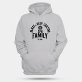 Always Keep Fighting Supernatural Family Man's Hoodies | Leaftunes