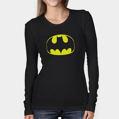 Batman Logo Woman's Long Sleeve | Leaftunes