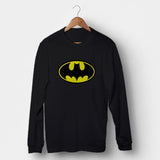 Batman Logo Man's Long Sleeve | Leaftunes