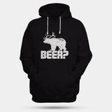 Bear Deer Man's Hoodies | Leaftunes