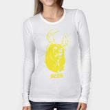 Beer Deer Bear Woman's Long Sleeve | Leaftunes
