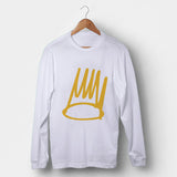 J Cole Born Sinner Crown Man's Long Sleeve | Leaftunes
