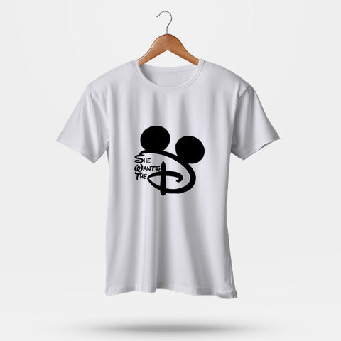 She Wants The D Disney Man's T-Shirt | Leaftunes
