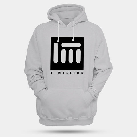 1 Million Dance Logo Man's Hoodies | Leaftunes