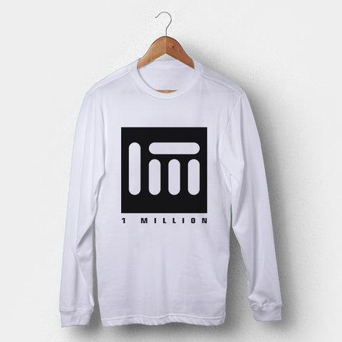 1 Million Dance Logo Man's Long Sleeve | Leaftunes