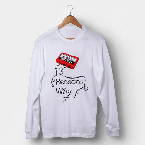 13 Reasons Why Tape Man's Long Sleeve | Leaftunes