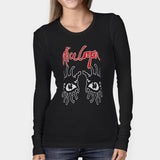 Alice Cooper Eyes Love It To Death Woman's Long Sleeve | Leaftunes