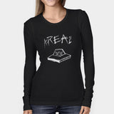 Area21 Logo Woman's Long Sleeve | Leaftunes
