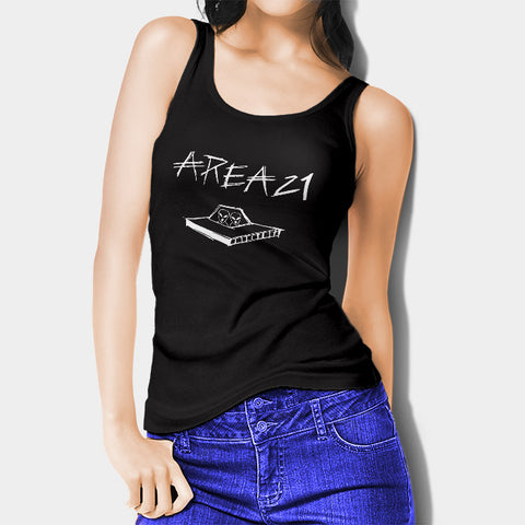 Area21 Logo Woman's Tank Top I | Leaftunes