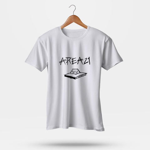 Area21 Logo Man's T-Shirt | Leaftunes