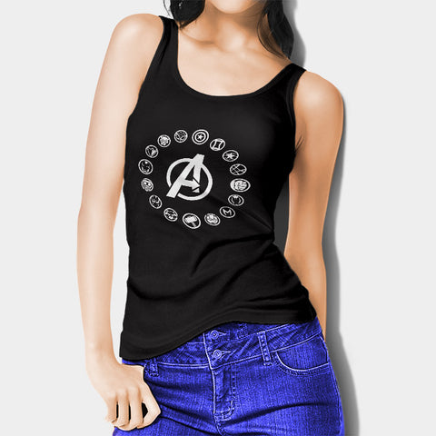 Avengers Infinity Wars Woman's Tank Top I | Leaftunes