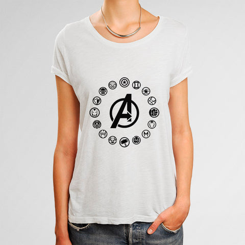 Avengers Infinity Wars Woman's T-Shirt | Leaftunes