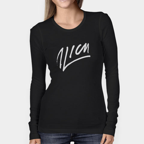 Avicii Autograph Woman's Long Sleeve | Leaftunes