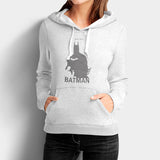 Batman Justice Grey Woman's Hoodies | Leaftunes