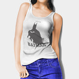 Batman Justice Grey Woman's Tank Top I | Leaftunes