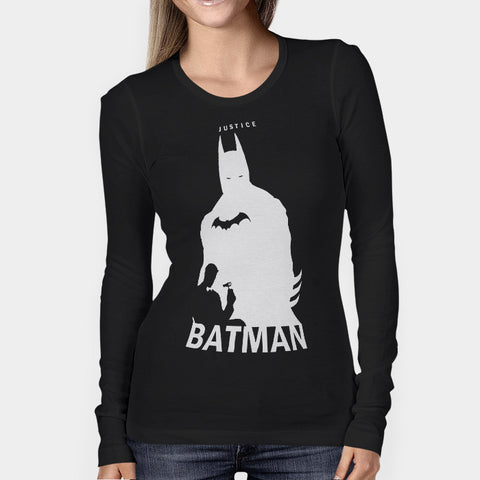 Batman Justice Woman's Long Sleeve | Leaftunes