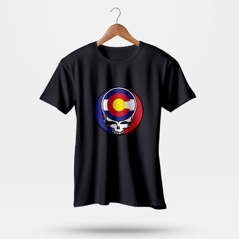 Steal Your State Colorado State Flag Grateful Dead Man's T-Shirt | Leaftunes