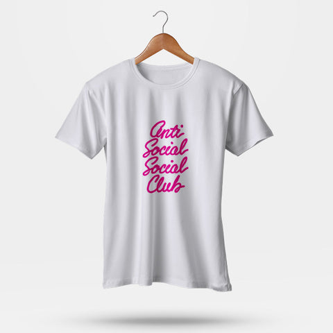 Anti Social Social Club Handwritten Man's T-Shirt | Leaftunes