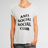 Anti Social Social Club Woman's T-Shirt | Leaftunes