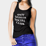 Anti Spoiler Social Club Woman's Tank Top I | Leaftunes